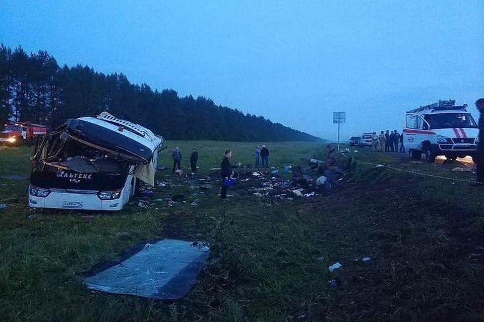 Башкортстандагы авариядә 6 кеше һәлак булган (ВИДЕО)