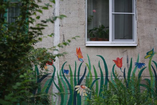 В Казани жителям дома на улице Латышских Стрелков грозит штраф в 200 тысяч рублей за благоустройство дома