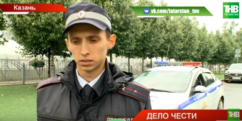 В Казани инспектор ДПС Булат Зайнуллин спас пожилую женщину