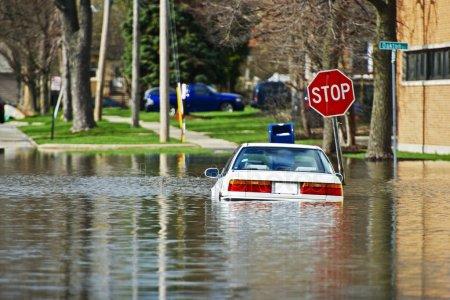 Казань снова затопило