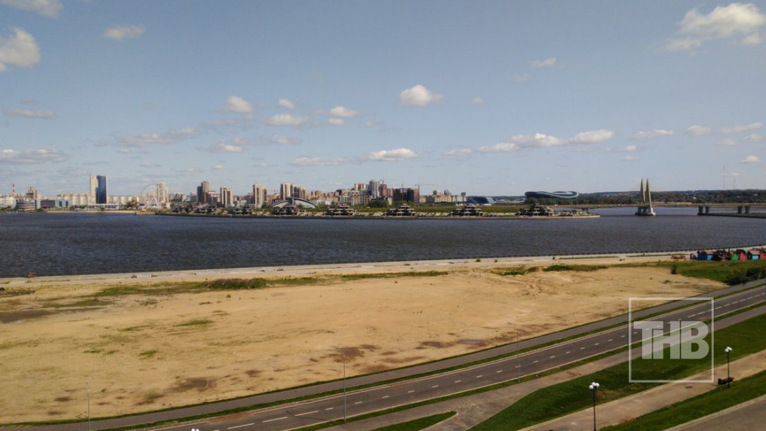 Ради новой набережной в Казани засыпали часть Казанки