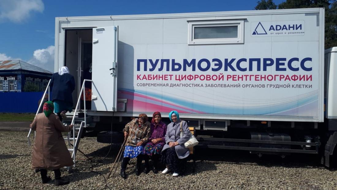 В Татарстане появилась первая мобильная поликлиника