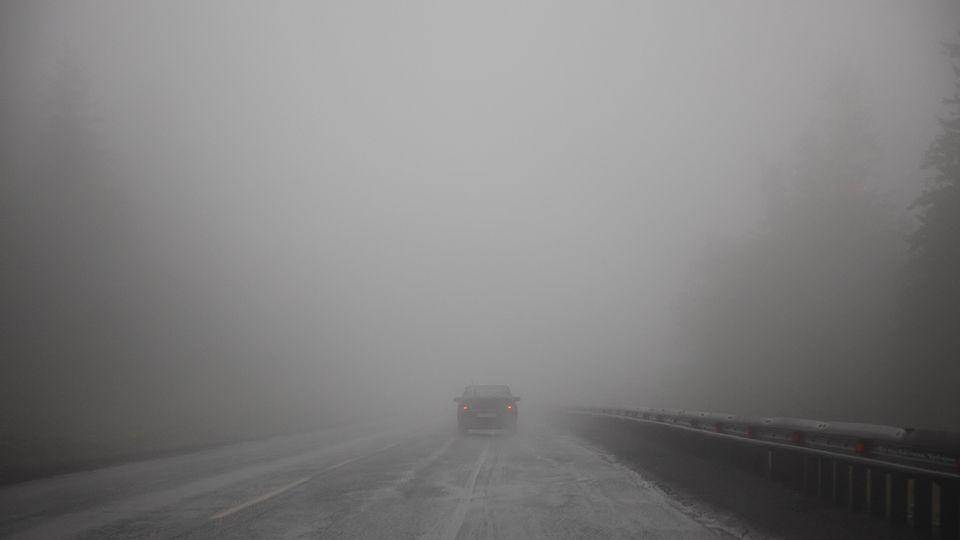 Завтра на дорогах Татарстана обещают туман