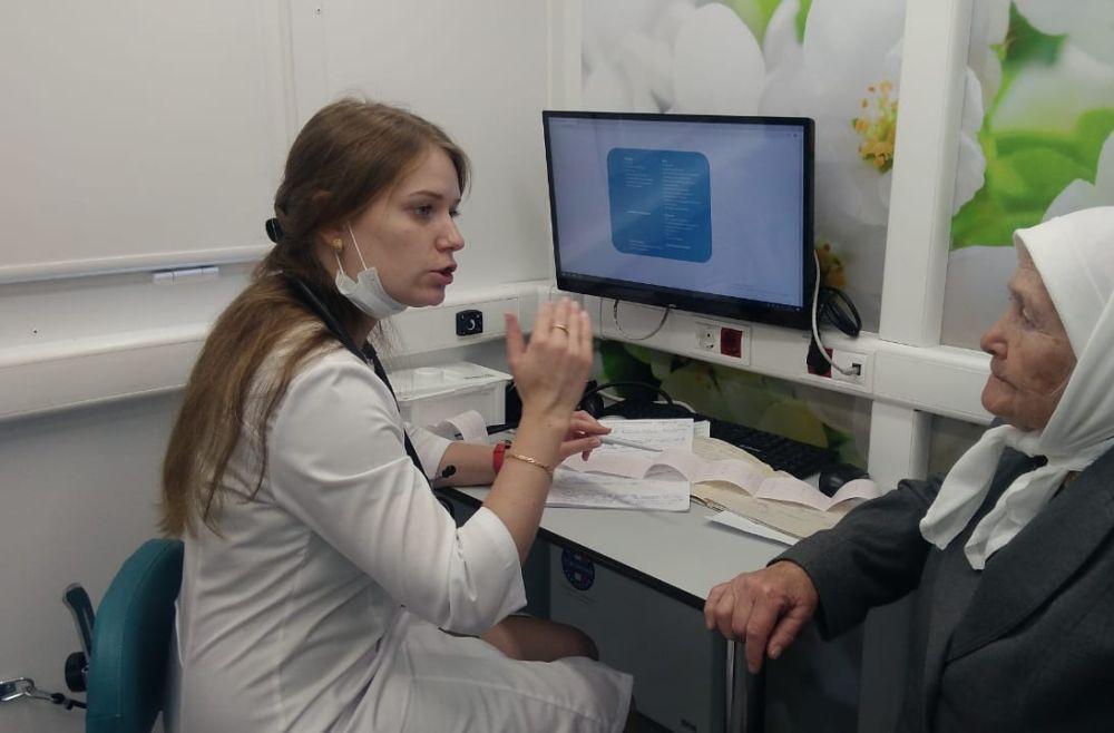 В Буинском районе Татарстана появилась «Мобильная поликлиника»