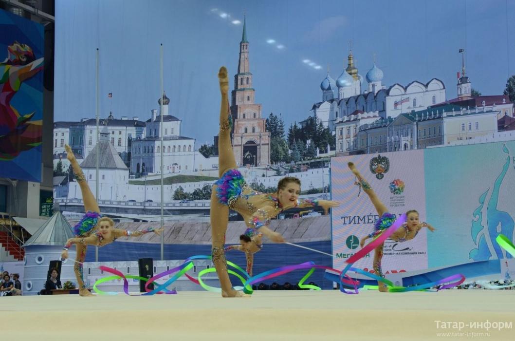 Этап Кубка мира по художественной гимнастике прошел в Казани (ВИДЕО)