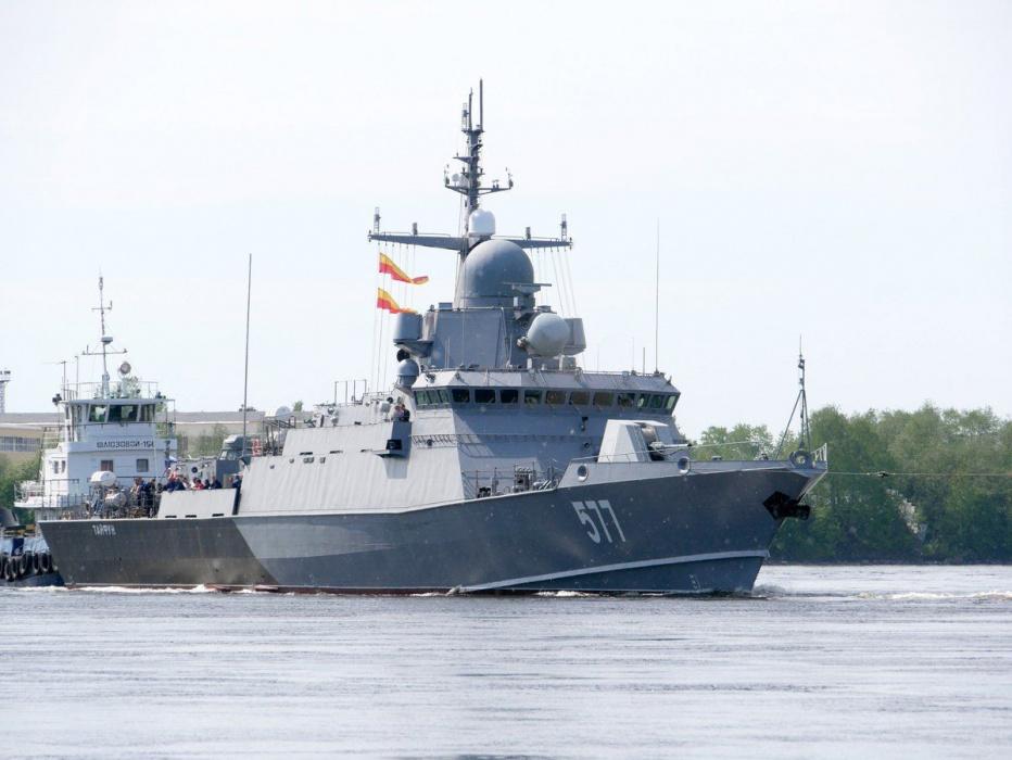 В Татарстане построят корабль, который зарекомендовал себя в Сирии (ВИДЕО)