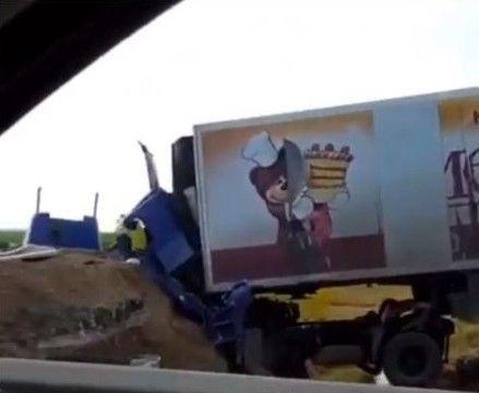 Водитель фуры погиб в страшном ДТП в Татарстане (ВИДЕО)