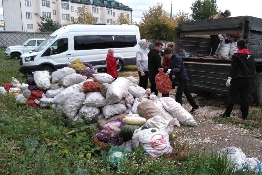 Узган атнада Татарстанда мохтаҗларга 5 тонна күләмендә гошер сәдакасы таратылды