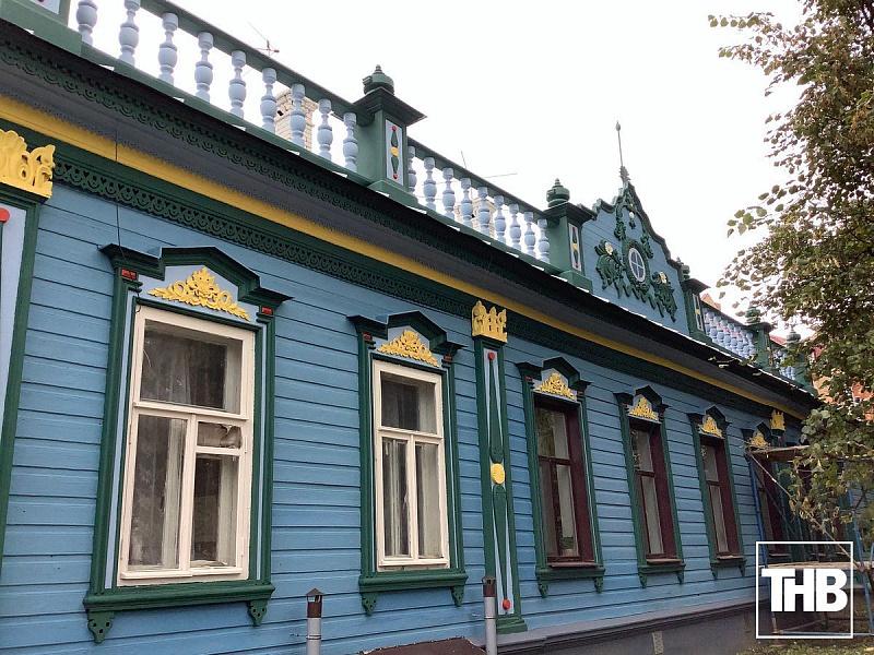 Дом Николая Беркутова, начало XX в., Фатыха Карима, 11