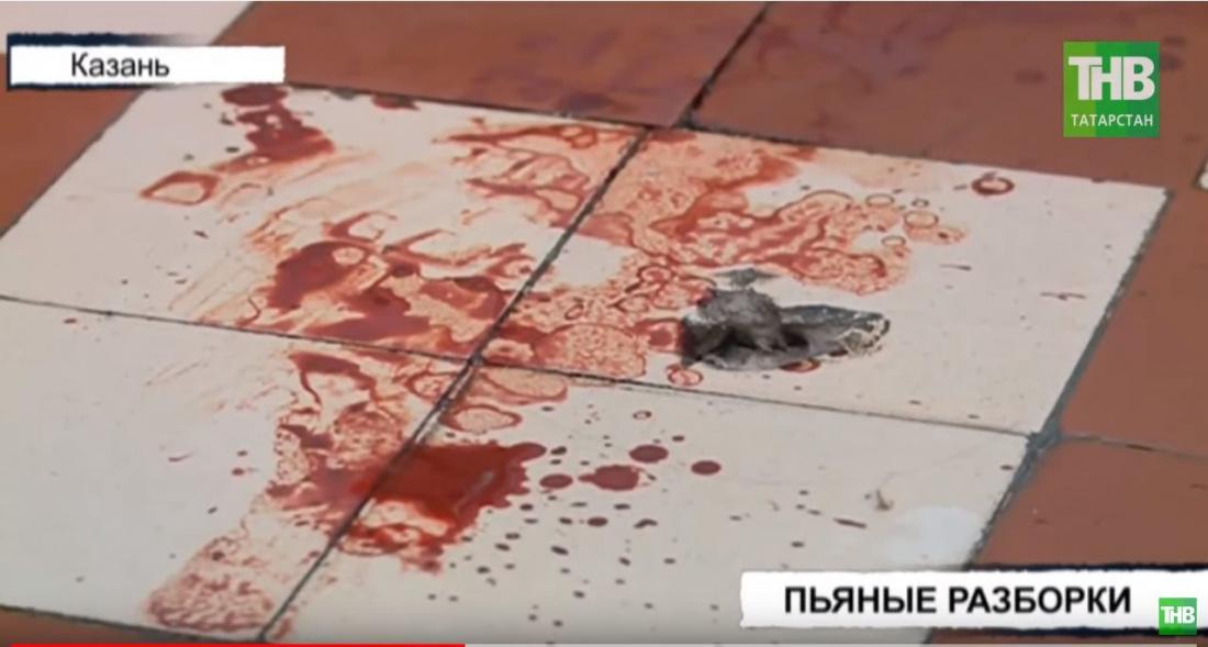 Пьяная драка привела к ножевому ранению в казанском общежитии (ВИДЕО)