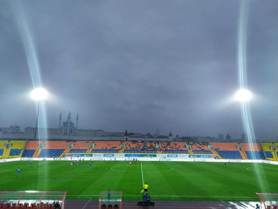 «Рубин» впервые в сезоне забил два мяча за игру и обыграл «Тамбов»