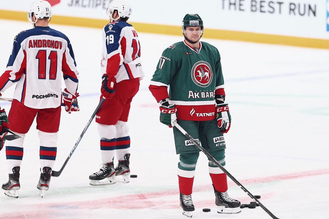 ЦСКА разгромил «Ак Барс» в битве последних обладателей Кубка Гагарина