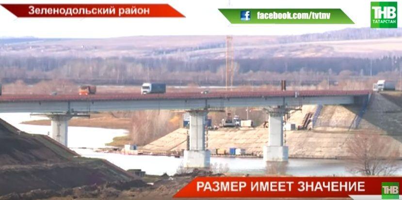 «По керченской технологии»: В Татарстане реконструируют мост через Свиягу (ВИДЕО)