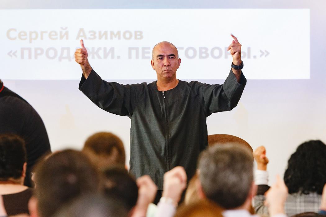 Бизнес-тренер Сергей Азимов посетил Казань (ВИДЕО)