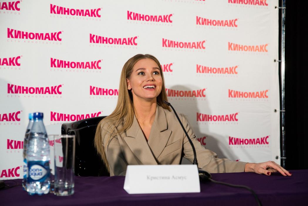Кристина Асмус: «Гарик Харламов постоянно был со мной на связи в премьерный день фильма «Текст»