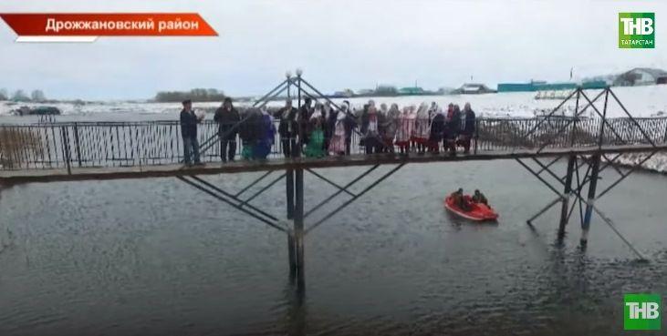 Как чуваши и татары построили в Татарстане мост дружбы между деревнями (ВИДЕО)