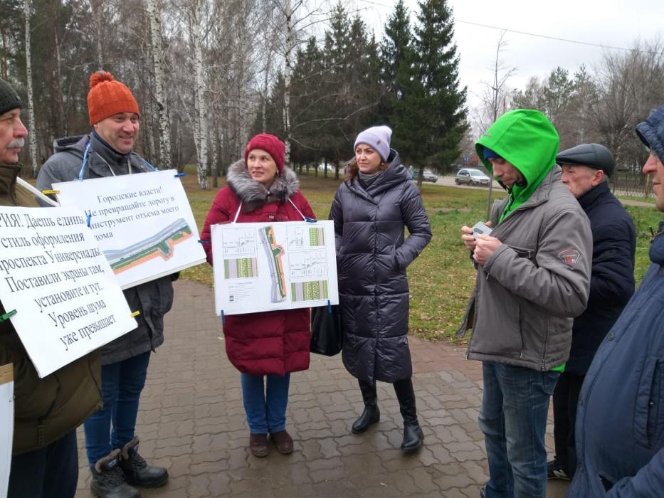 Жители столицы Татарстана протестуют против новой дороги
