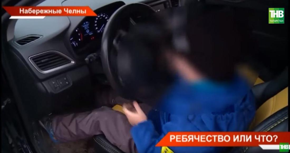 В Татарстане завели уголовное дело на женщину, посадившую 6-летнего ребенка за руль