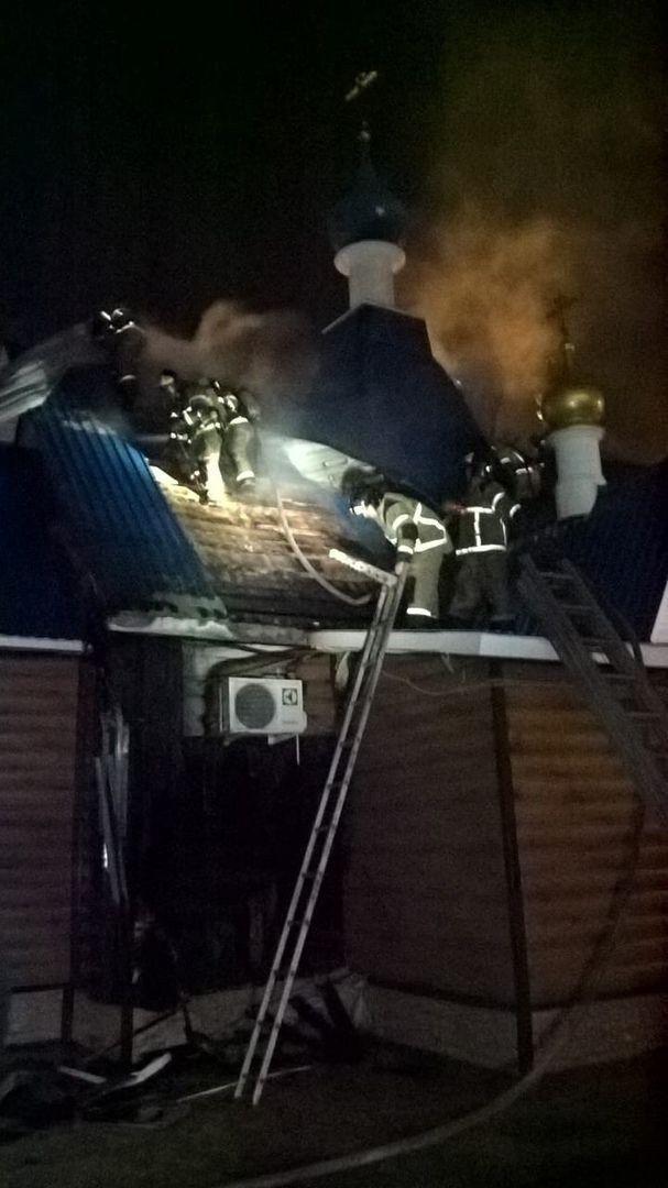 Татарстанское УФСБ задержало поджигательницу храма Казанской иконы Божьей матери в Зеленодольске