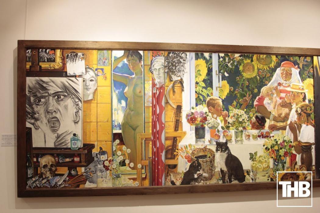 В Казани открылась выставка самого известного татарского художника (ВИДЕО)