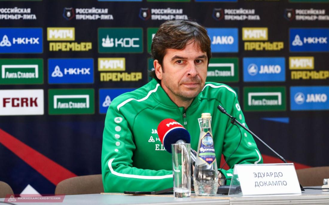 Главный тренер «Рубина»: «Есть понимание, как избежать вылета»
