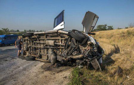 В Доминикане автобус с россиянами столкнулся с грузовиком и опрокинулся: 15 человек находятся в критическом состоянии