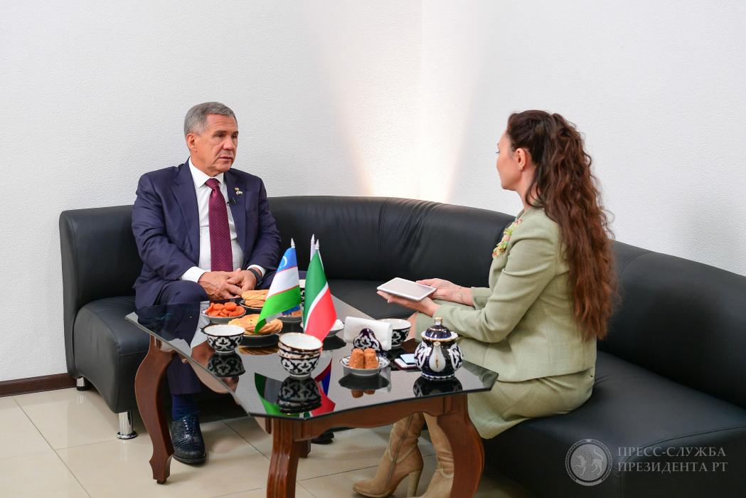 Рустам Минниханов: «Татары комфортно живут в Узбекистане и сохраняют исторические корни» (ВИДЕО)