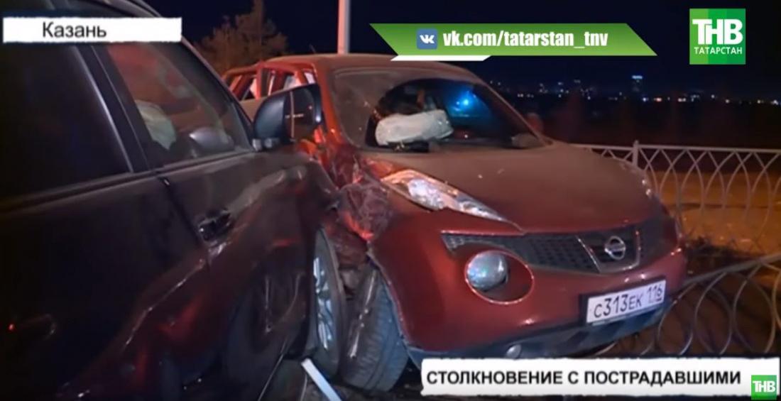 В Казани автоледи и ее 4-летний сын пострадали в страшной аварии (ВИДЕО)