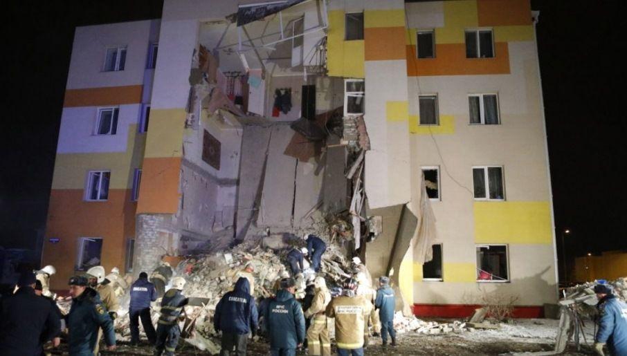 В Белгородской области в многоквартирном доме произошел взрыв газа, погиб мужчина и пятеро пострадали