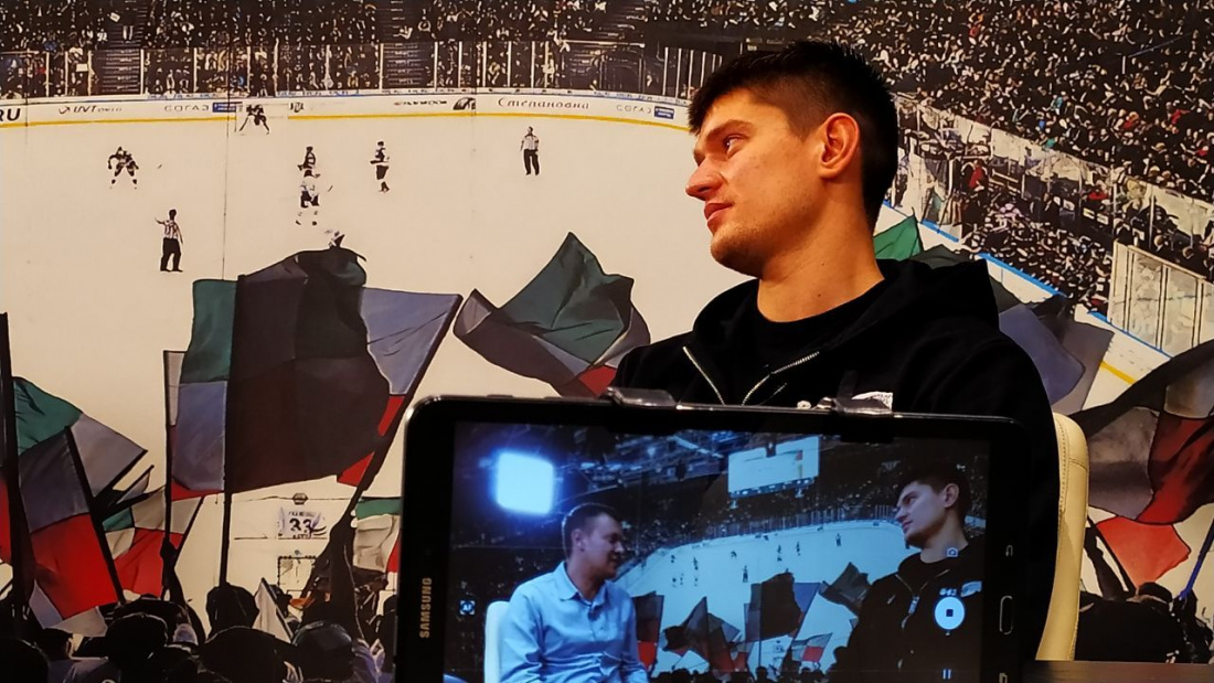 Роман Рукавишников: «Цель «Ак Барса»? Конечно, Кубок Гагарина»