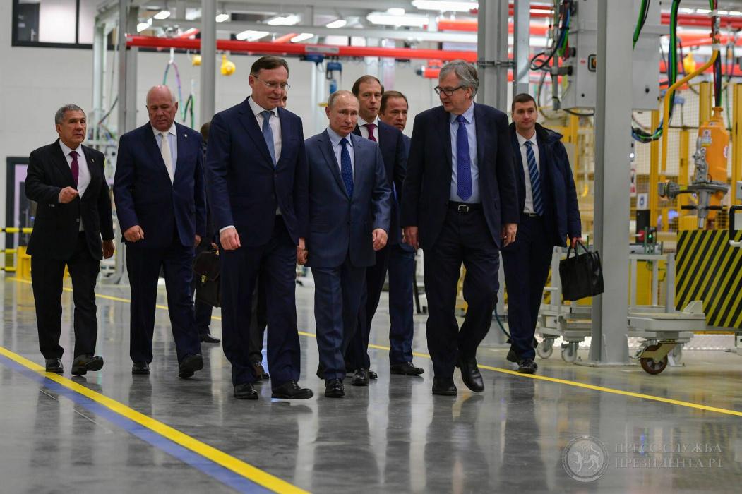 Каждый квартал в Татарстане: президент России Владимир Путин посетил Челны в честь 50-летия КАМАЗа (ВИДЕО)