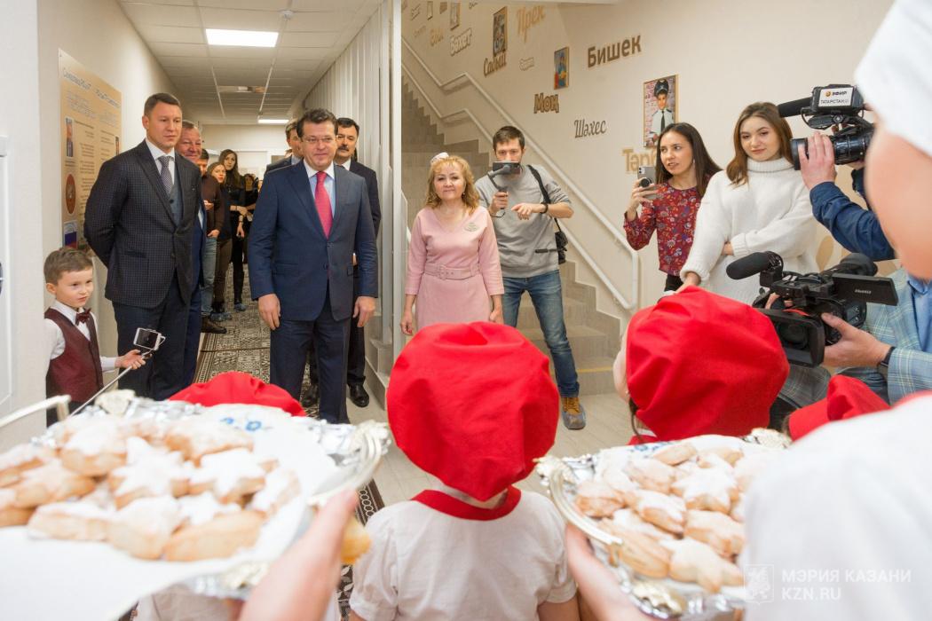 В казанском микрорайоне «Салават купере» открылись два новых детских сада