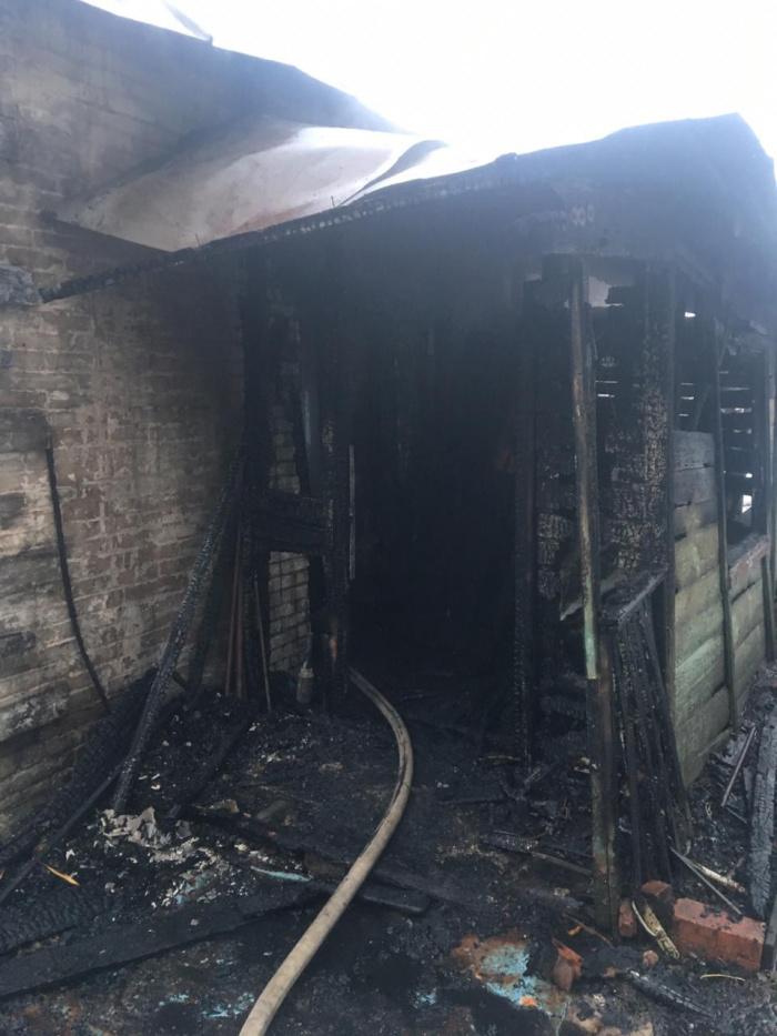 В Казани при пожаре в частном доме сгорел мужчина