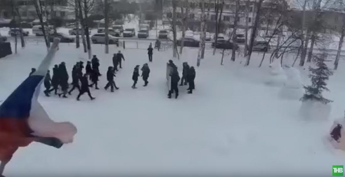 Прокуратура Татарстана признала незаконным участие школьников в учениях МВД