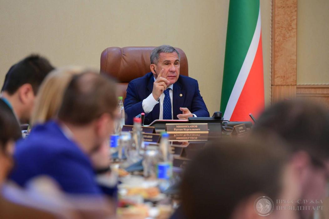 Рустам Минниханов: «Рубин» - это наша команда, она впереди или внизу - это всё равно наше» (ВИДЕО)