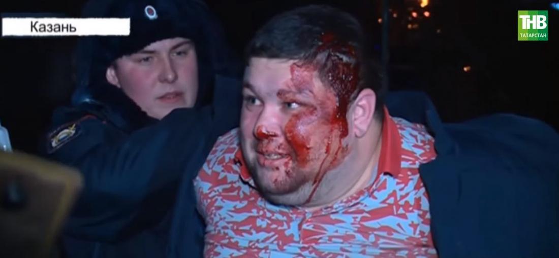 В Казани хулиганы с Горок  устроили массовую драку с полицией (ВИДЕО)
