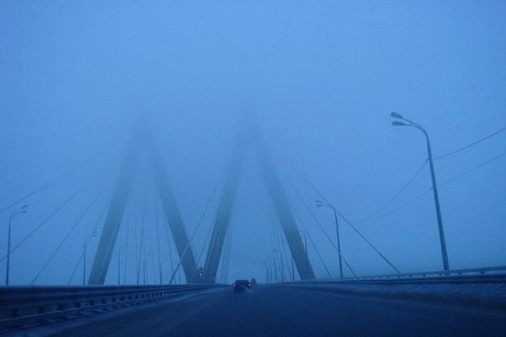 Сегодня и завтра на дорогах Татарстана будет туман
