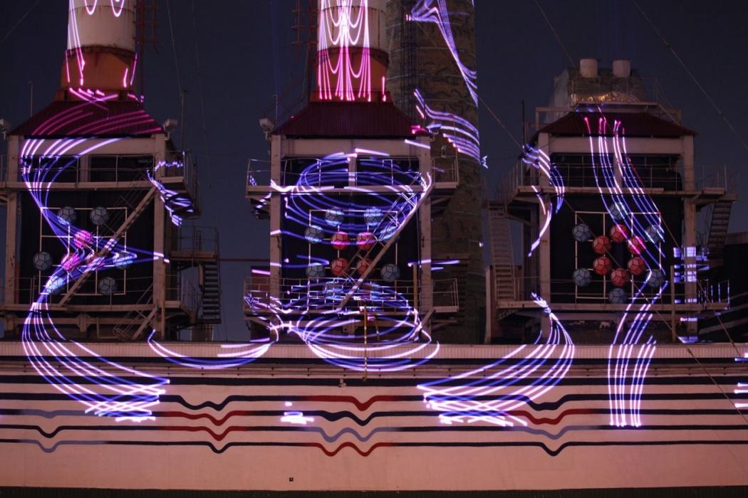 Альметьевск на Новый год украсила лазерная котельная и десятиметровый солнечный факел (ВИДЕО)