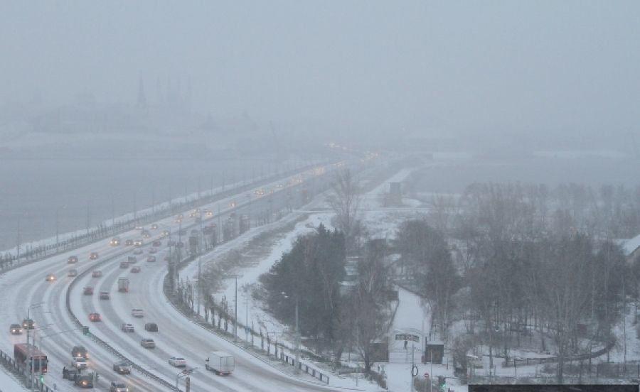 Стала известна погода на 31 декабря и новогоднюю ночь в Татарстане