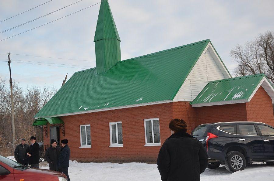В Агрызском районе Татарстана открылась новая мечеть