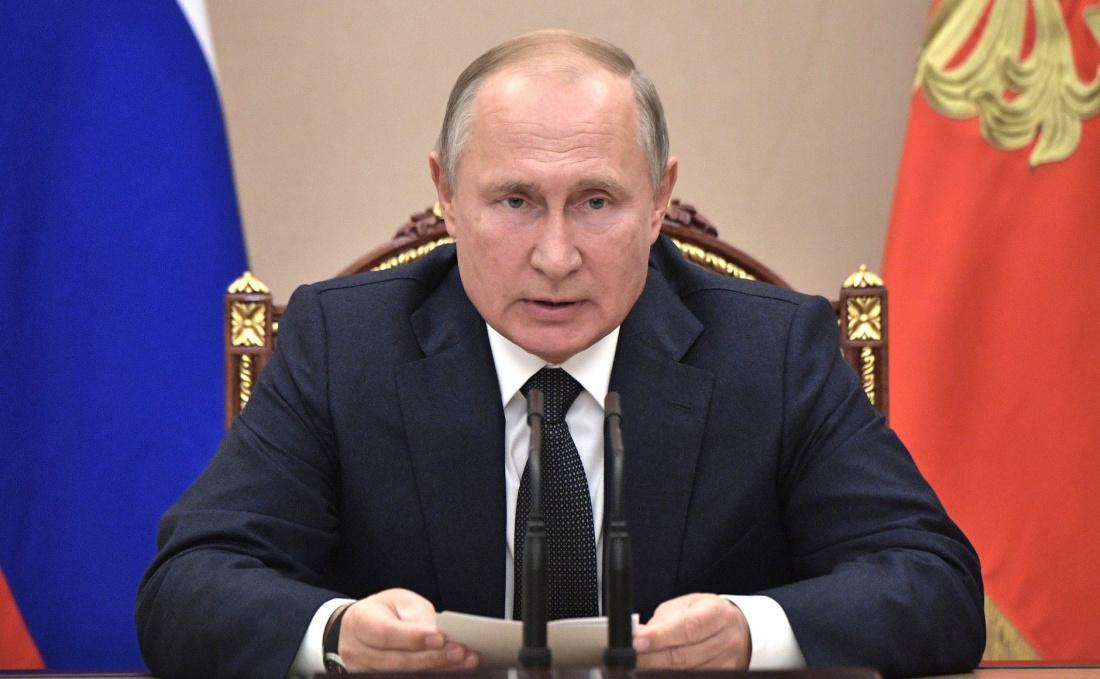 Прямая трансляция ежегодного послания Владимира Путина Федеральному Собранию (ВИДЕО)