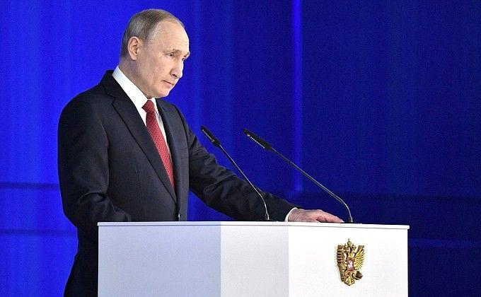 Владимир Путин предложил повысить  роль губернаторов и статус Госсовета в России