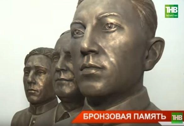 В канун Дня Победы в Нижнекамске установят 10 бюстов татарстанских героев (ВИДЕО)