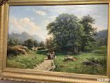 Швейцарскй пейзаж - 1866 год