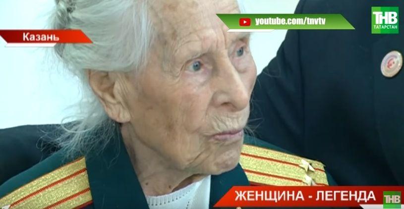 Ветерану Великой Отечественной войны Татьяне Емелиной из Татарстана иполнилось 99 лет (ВИДЕО)