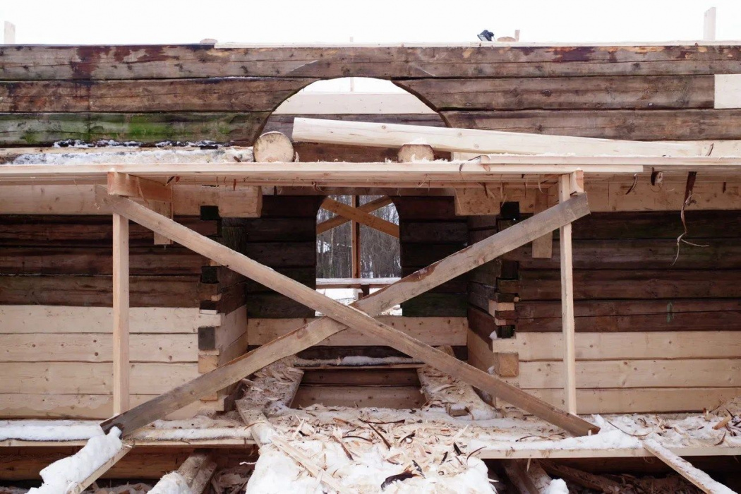 В Вологодской области приостановили работы по реставрации мечети из Татарстана