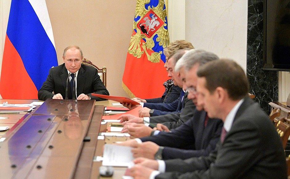 Владимир Путин прокомментировал решение уволить главу Чувашии
