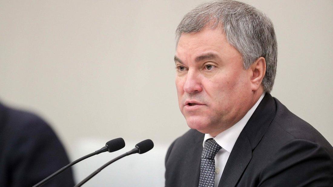 Владимир Володин выразил соболезнования в связи с гибелью Айрата Хайруллина