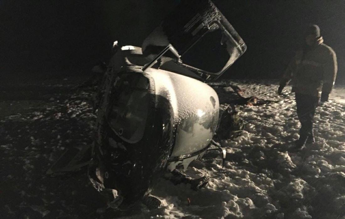 Пострадавшие при крушении вертолета Хайруллина находятся в стабильно тяжелом состоянии