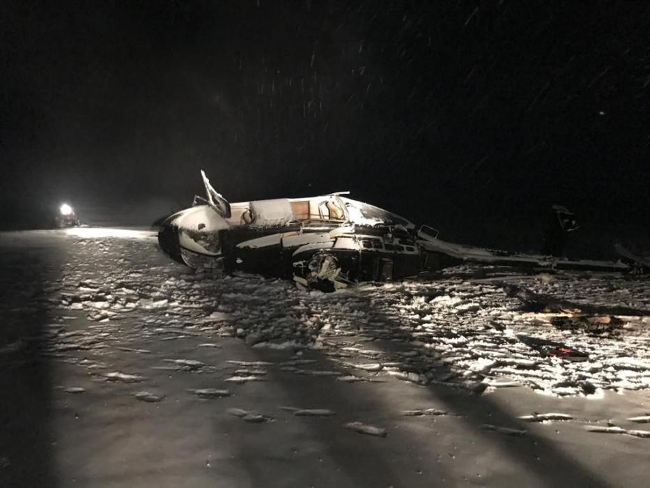 Пострадавших при падении вертолета Хайруллина перевели из реанимации
